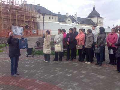 13 сентября учителя истории Муслюмовского района посетили исторические места остров Свияжск